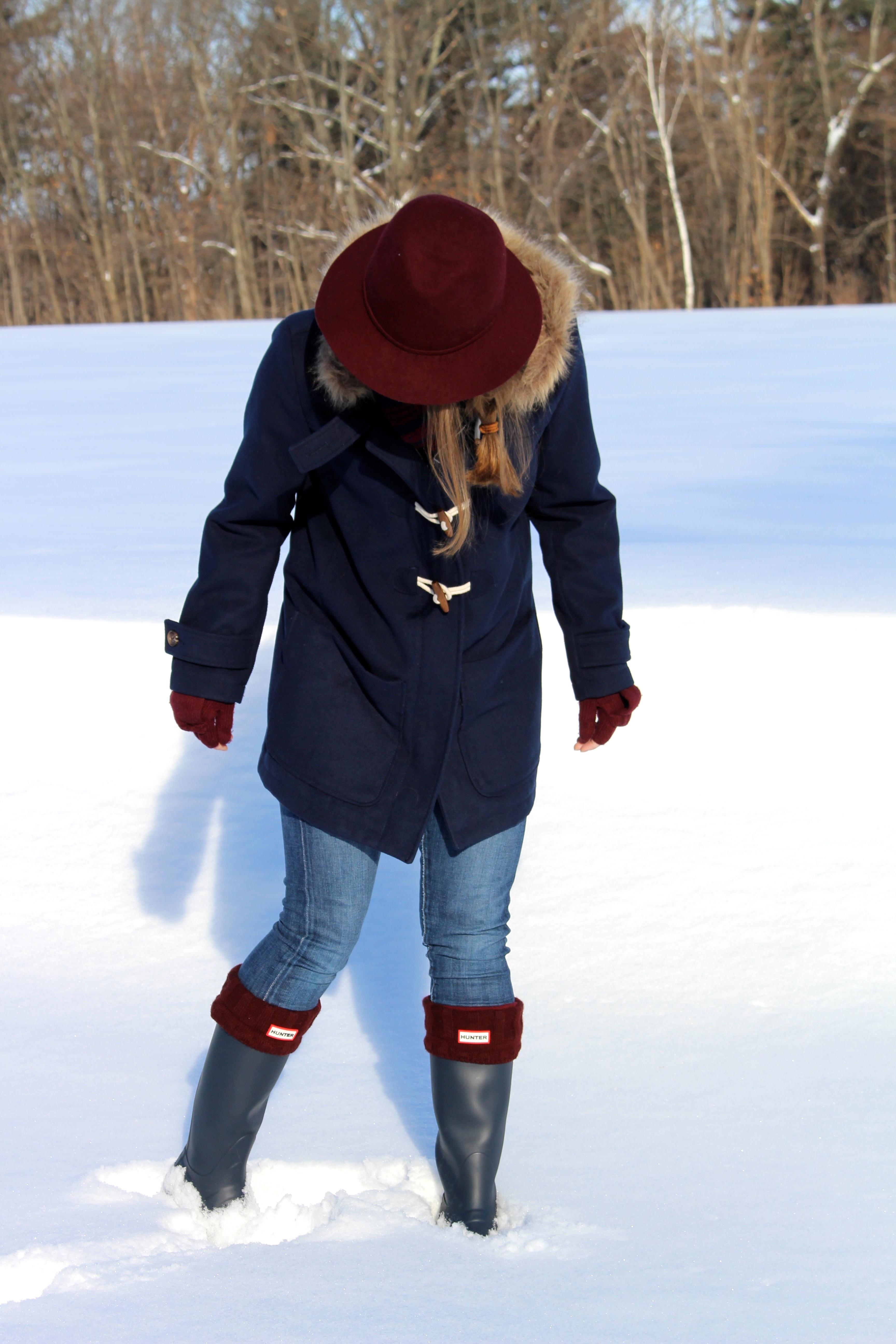 hunter rain boots   The Sol Compass