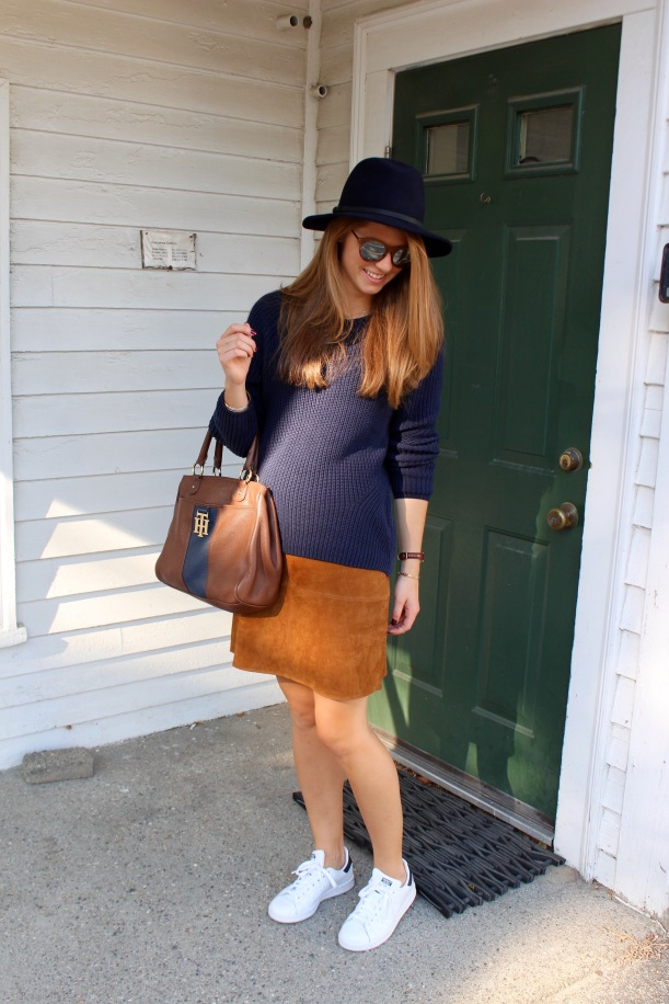Fall Suede Skirt