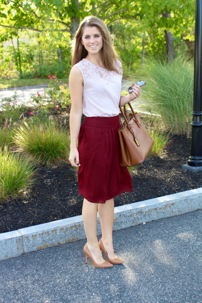 Blush and Burgundy | The Sol Compass