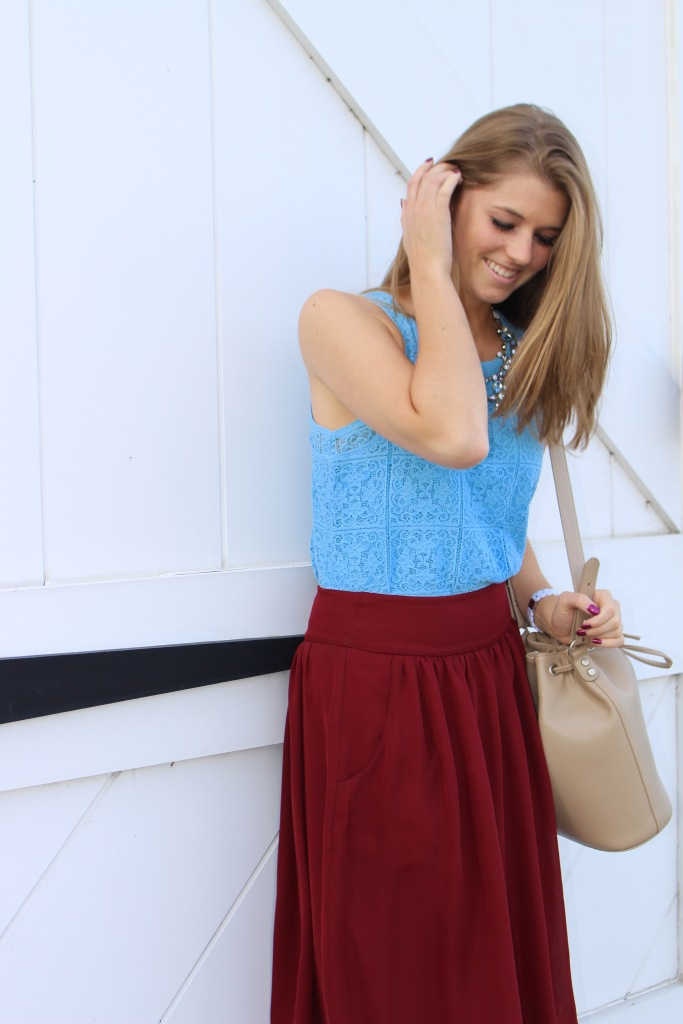 fresh color combinations for fall on The Sol Compass