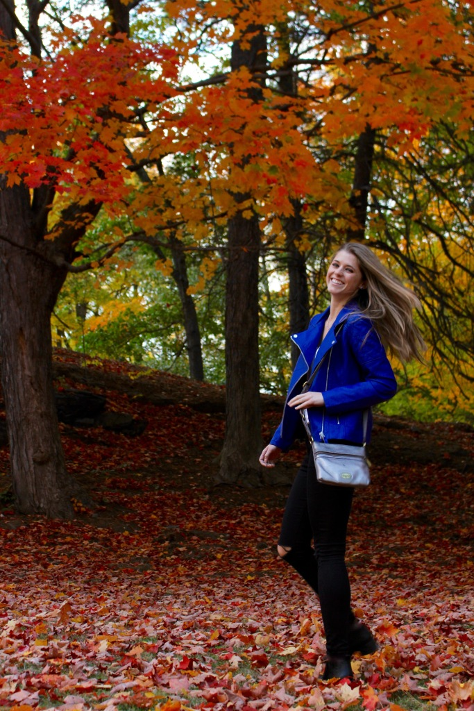 Colored Faux Leather for Fall