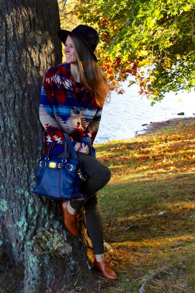 fall sweater on The Sol Compass