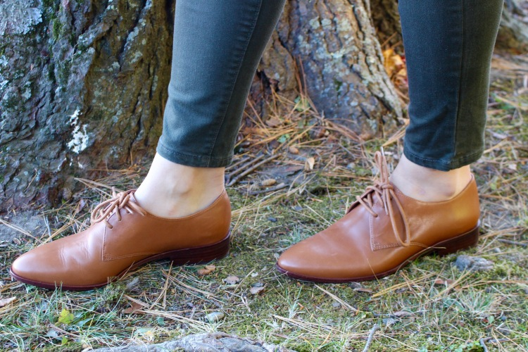 Madewell Oxfords