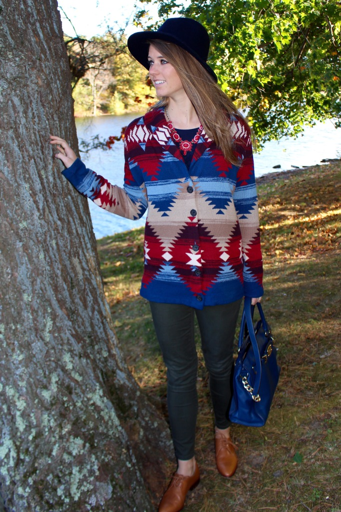 fall sweater outfit on The Sol Compass