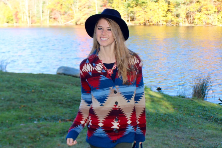 Southwestern Sweater on The Sol Compass