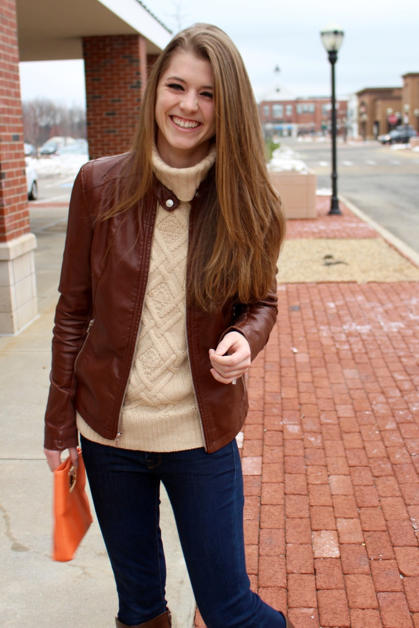 Leather jacket express