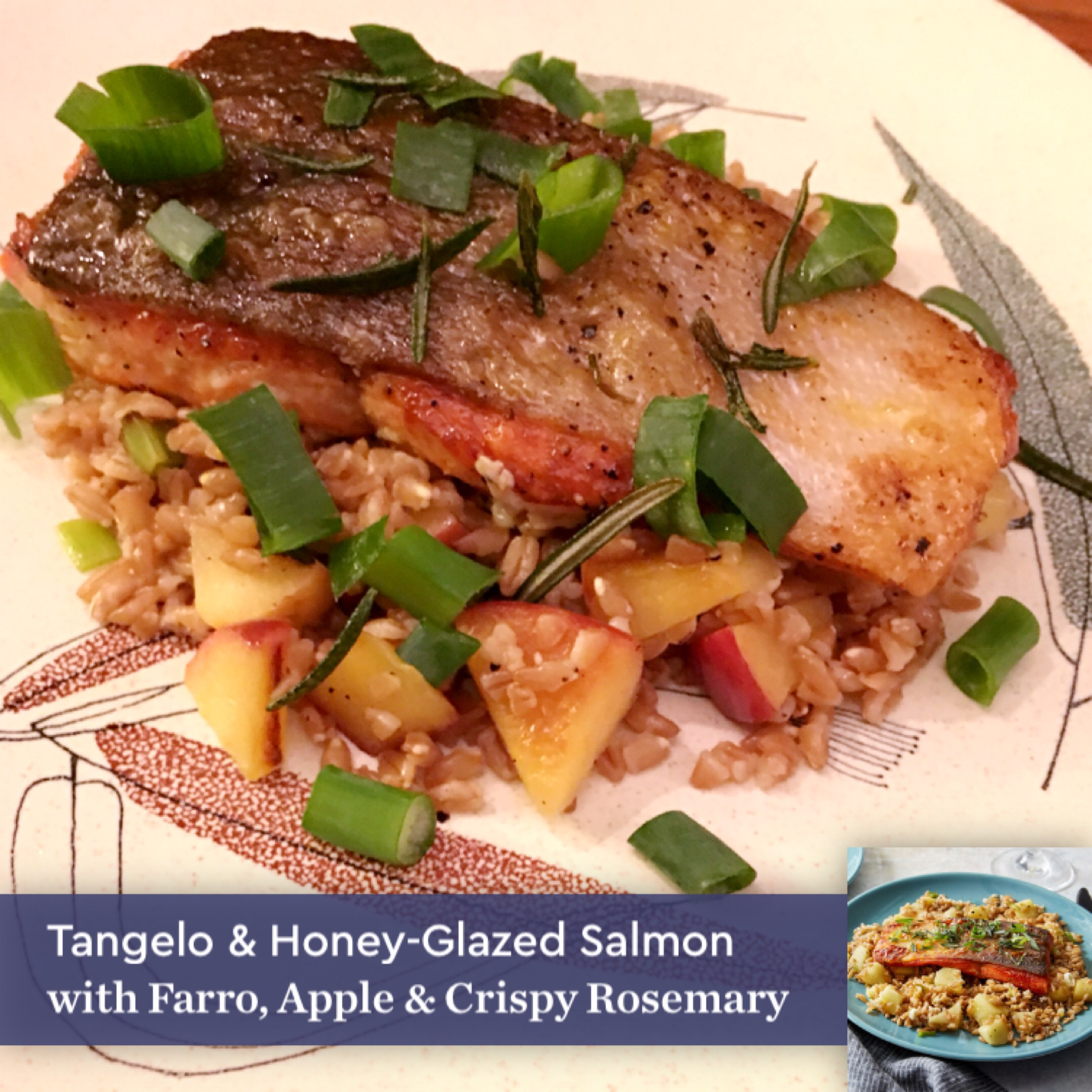Blue apron salmon - Take A Look At The Pictures From My First Box Below I Used The Handy Blue Apron App For Filters And The Recipe Captions