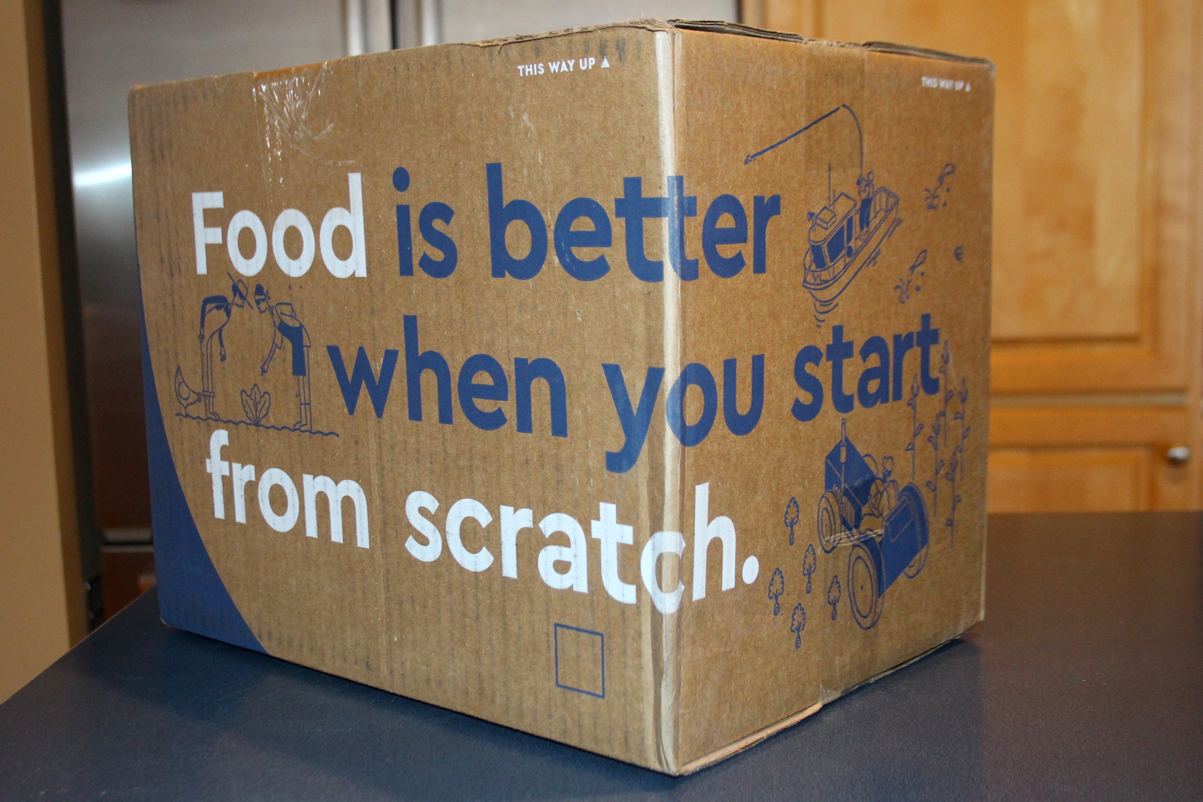 Blue apron questions - Exasperated With Wastefulness And Palette Boredom I Decided To Give Blue Apron A Try One Of The Things That Instantly Caught My Attention Was The